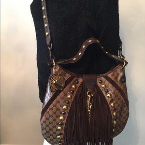 Gucci GG Crystal Babouska Large Indy Bag